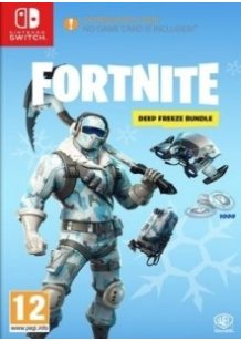 Fortnite Deep Freeze Bundle Switch cover