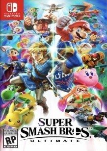 Super Smash Bros Ultimate Switch cover
