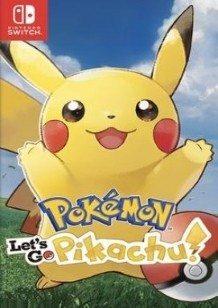 Pokémon: Let's Go Pikachu! Switch cover