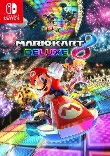Mario Kart 8 Deluxe Switch cover