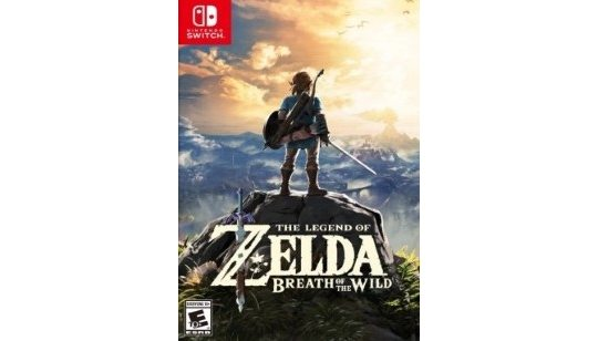 The Legend of Zelda: Breath of the Wild Switch cover
