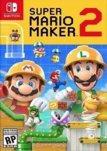 Super Mario Maker 2 Switch cover
