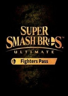 Super Smash Bros DLC Ultimate Fighter Pass Switch cover