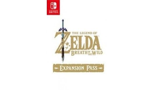 The Legend of Zelda DLC Breath of the Wild Expansion Pass Switch cover