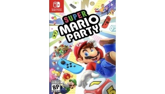 Super Mario Party Switch cover