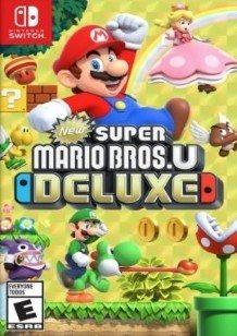 New Super Mario Bros. U Deluxe Switch cover