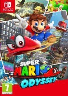 Super Mario Odyssey Switch cover