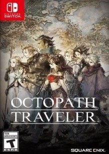 Octopath Traveler Switch cover