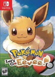 Pokémon: Let's Go Eevee! Switch cover