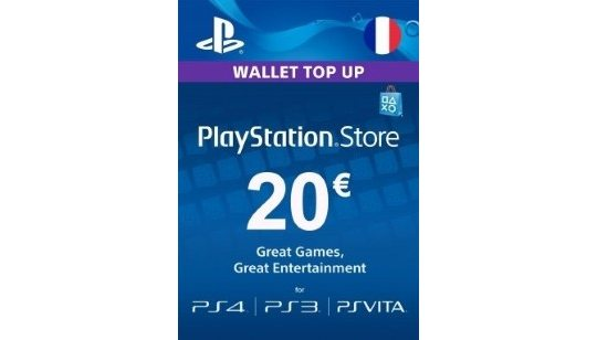 Carte Playstation Network 20€ cover
