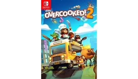 Overcooked! 2 Switch cover