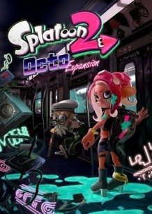 Splatoon 2: Octo Expansion Switch cover