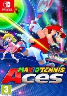 Mario Tennis Aces Switch cover