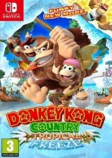 Donkey Kong Country Tropical Freeze Switch cover