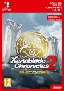 Xenoblade Chronicles 2 Expansion Pass Switch cover