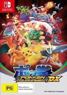 Pokkén Tournament DX Switch cover