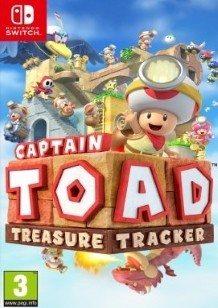 Captain Toad: Treasure Tracker Switch cover