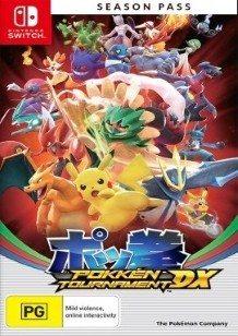 Pokkén Tournament DX Battle Pack Switch cover