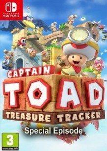Captain Toad Treasure Tracker Épisode Spécial Switch cover