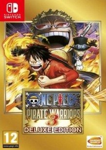 One Piece: Pirate Warriors 3 Deluxe Edition Switch cover