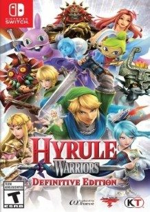 Hyrule Warriors Switch Definitive Edition cover