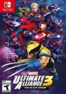 Marvel Ultimate Alliance 3 The Black Order Switch cover