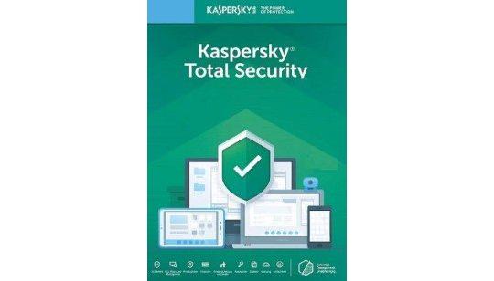 Kaspersky Total Security 2020 1 Appareil 1 an cover