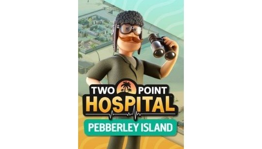 Two Point Hospital DLC Pebberley Island cover