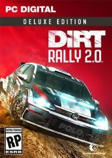 DiRT Rally 2.0 - Deluxe Edition cover