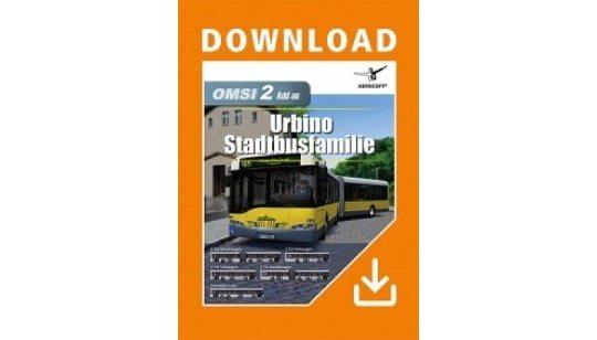 OMSI 2 DLC Urbino Stadtbusfamilie cover