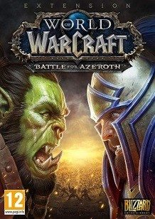 World of Warcraft Battle for Azeroth cover