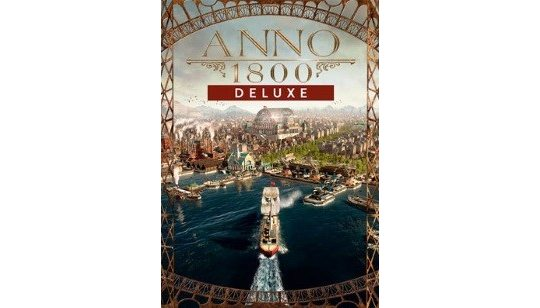 Anno 1800 Deluxe Edition cover