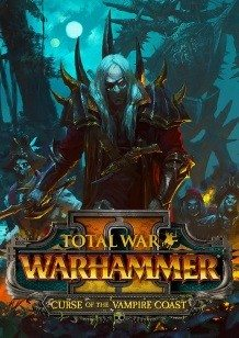 Total War: WARHAMMER II Curse of the Vampire Coast cover