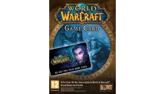 World of Warcraft 60 Jours Carte Prépayée cover
