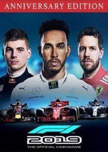 F1 2019 Anniversary Edition cover