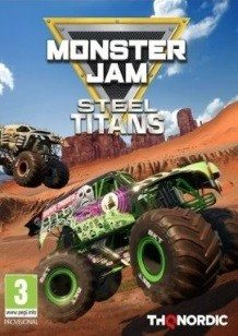 Monster Jam Steel Titans cover