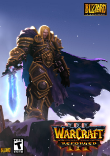 Warcraft III: Reforged cover