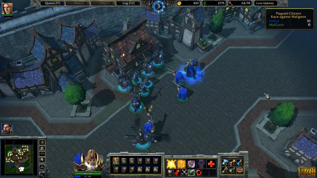 Jeu Warcraft 3 : reforged